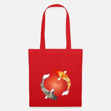 Carpe Poisson koi | carpe koi | poisson | poisson | étang de la carpe - Tote Bag