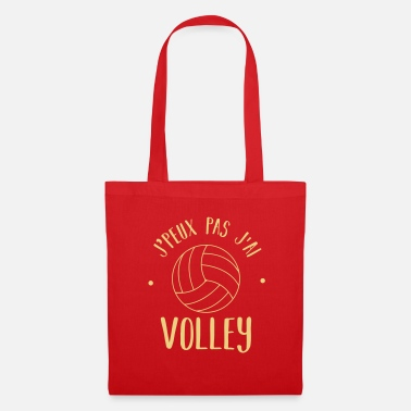 Volley j'peux pas volley - Tote Bag