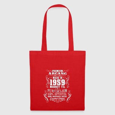1959 59 La bursdag de prime a NO - Tote Bag
