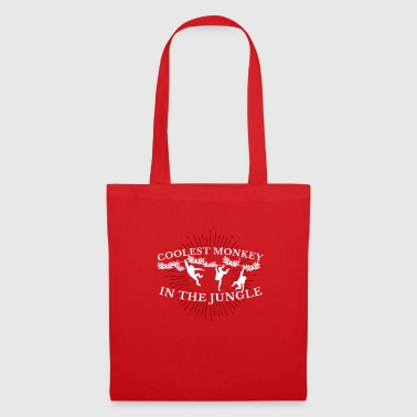 Coolest Monkey In The Jungle Monkey Monkey - Tote Bag