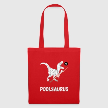 Pool Saurus Billiards 8Ball Cue Snooker Gifts - Tote Bag