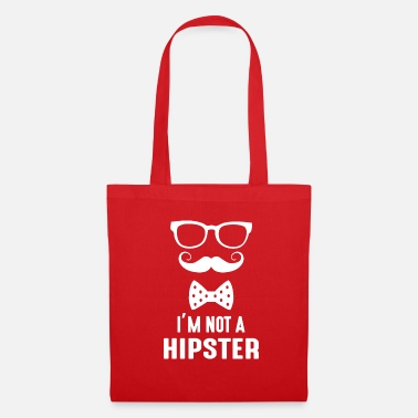Hipster Je ne suis pas un hipster - je ne suis pas un hipster - Tote Bag