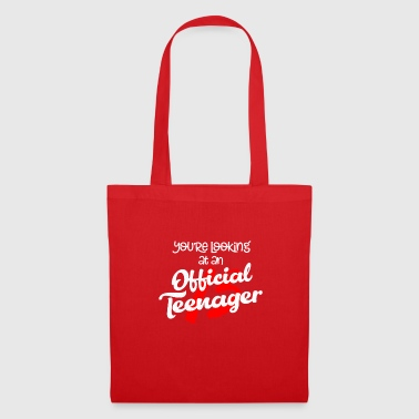 Teenager Cute 13 Official Teenage Gift - Tote Bag