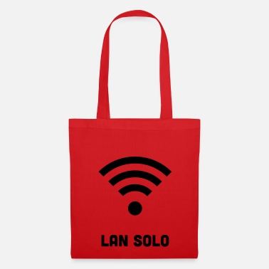 Lan-party WIFI LAN SOLO T-SHIRT - Tote Bag