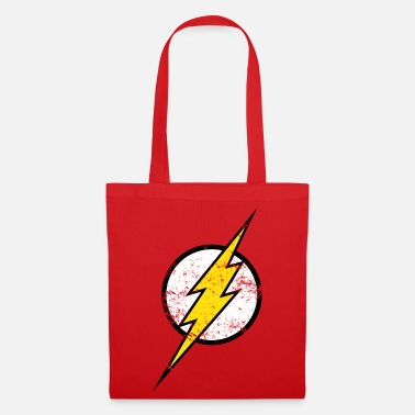 Officialbrands Justice League Flash Logo vintage - Tote Bag
