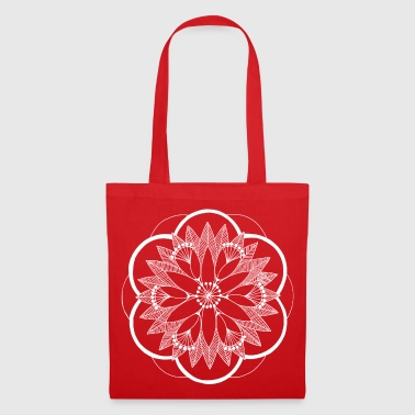 White Pond Bouquet Mandala - Tote Bag