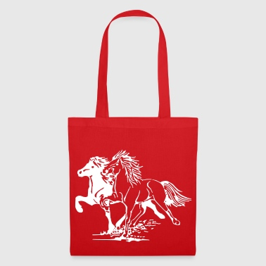 Chevaux au galop - Tote Bag