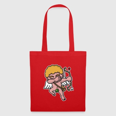 Dab dabbing Cupid Valentine's day  - Tote Bag