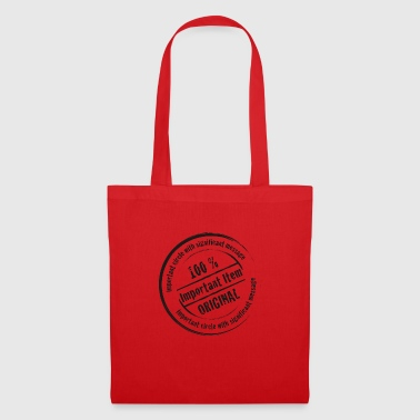 message important - Tote Bag