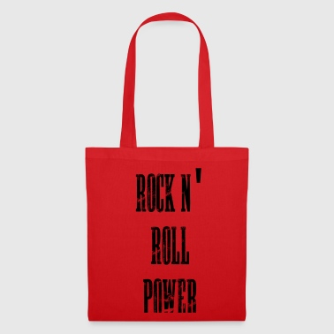 rock n' roll power - Borsa di stoffa
