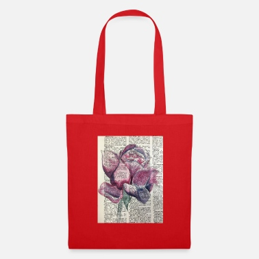 Watercolour Rose Watercolour - Tote Bag