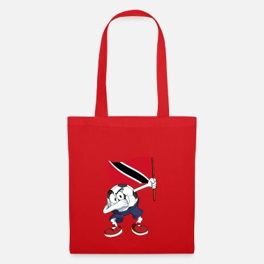 Trinidad And Tobago Trinidad and Tobago Dabbing football - Tote Bag