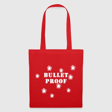 Bullet Proof White - Bolsa de tela
