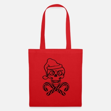 Story candy cane bite yummy hunger eat cool sch - Tote Bag