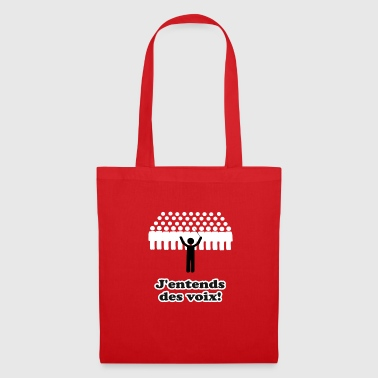 At the end of the voix - Tote Bag