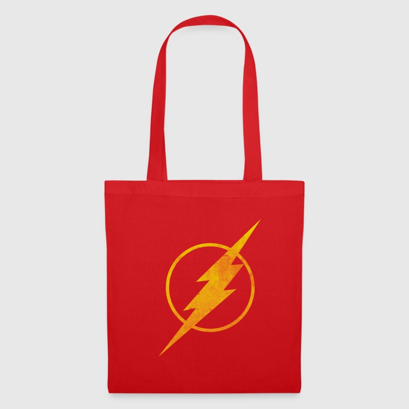 Justice League Flash Logo Pull  - Tote Bag
