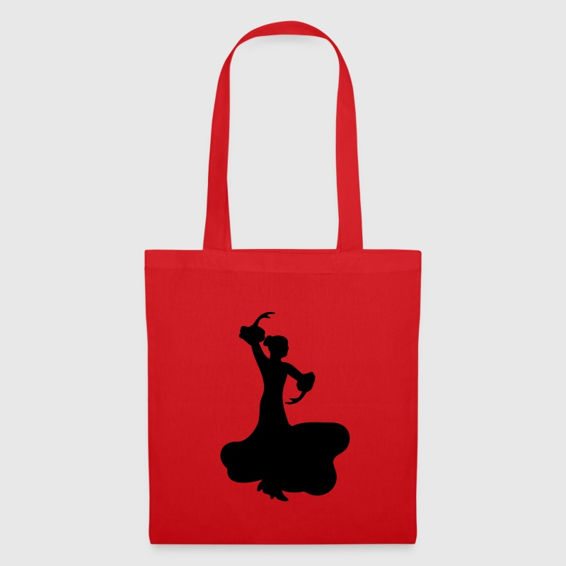 Flamenco Dancer - Tote Bag