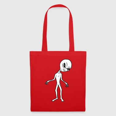 wuetend extraterrestre univers extraterrestre espace - Tote Bag