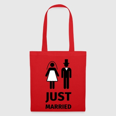 just married - Borsa di stoffa
