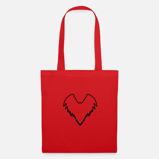 Gift Idea Bags & Backpacks - Wing - Tote Bag red
