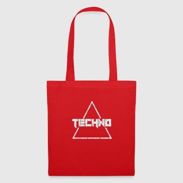Techno Music Electric House Rave Gift - Stoffveske