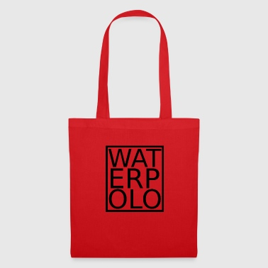 Waterpolo lettrage noir - Tote Bag