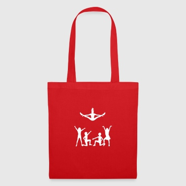 Un groupe de cheerleaders - Tote Bag