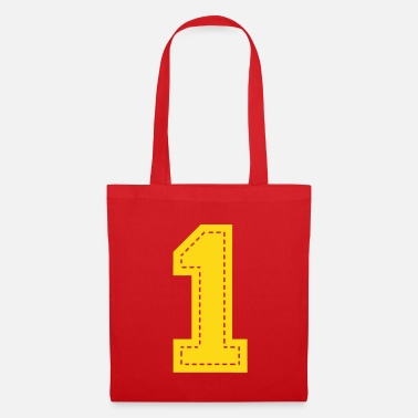 Birthday number one patch - Tote Bag