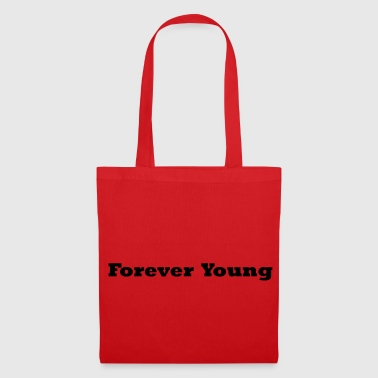 FOREVER YOUNG musta - Kangaskassi