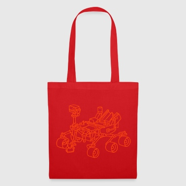 Curiosity, the Marsrover - Tote Bag