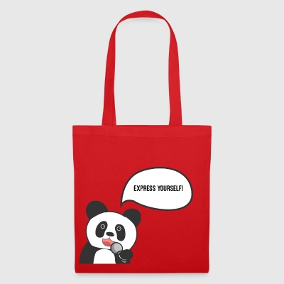 Express Yourself Panda - Tote Bag