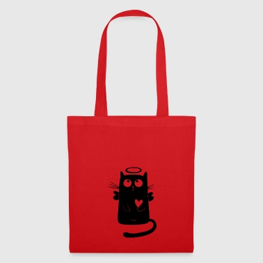 angelic cat - Tote Bag