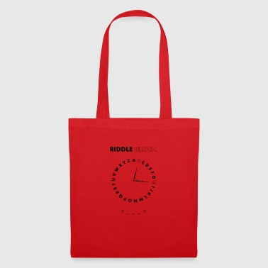 Riddle Clock Chienne - Tote Bag