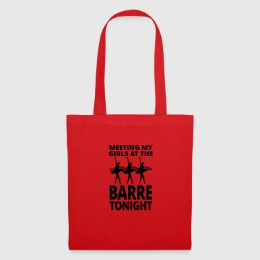 Ballet barre tonight - Tote Bag
