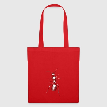 fourmi rouge - Tote Bag