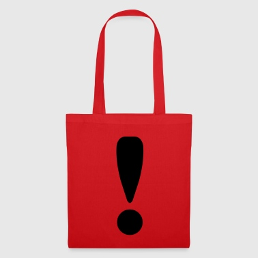 Exclamation Mark / ! - Tote Bag