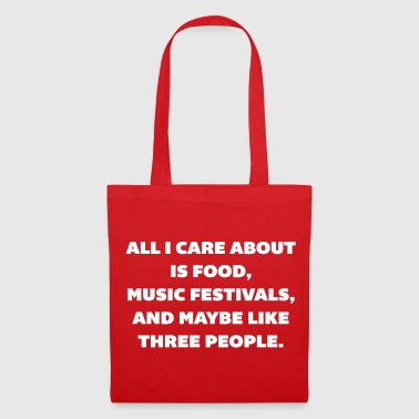 Care About Food - Tote Bag