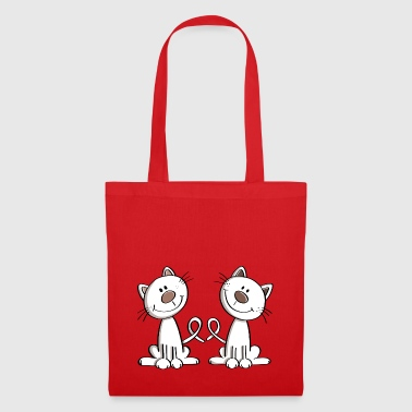 Sweet Cats Couple - Cat - Cats - Love - Fun - Tote Bag