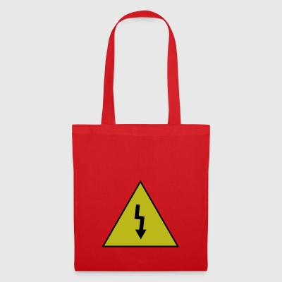 electricity danger signal - Tote Bag