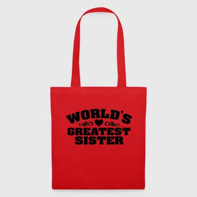 World's Greatest Sister - Tote Bag