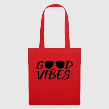 Good vibes with sunglasses - Tote Bag