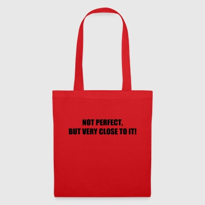 NOT PERFECT - Tote Bag