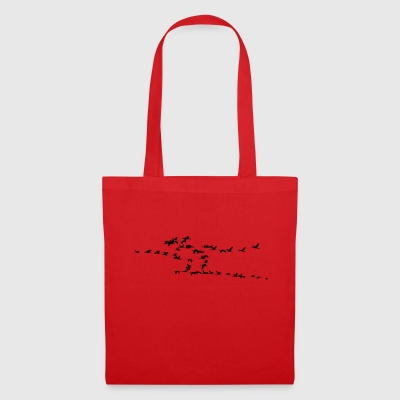 Moving birds - Tote Bag