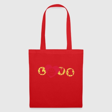 volley waterpolo love capsule coeur hear - Tote Bag
