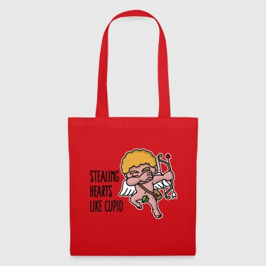 Stealing hearts like cupid - Valentine's day dab - Tote Bag