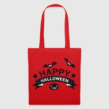 Happy Halloween | Citrouille | Bat | Horreur - Tote Bag