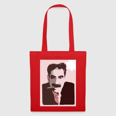 Groucho Marx Red - Tote Bag