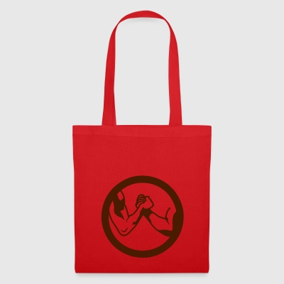 arm wrestling bras fer logo16 - Tote Bag