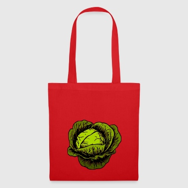 Cabbage, cabbage, vegetables - Tote Bag