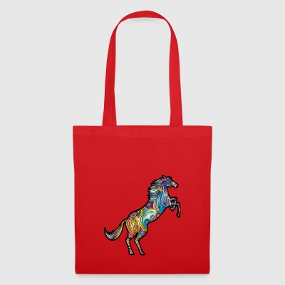 cheval abstrait - Tote Bag